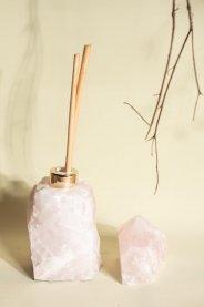 Imagem - Difusor quartzo rosa bruto INSIGHT