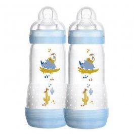 Imagem - Kit mamadeira easy start first bottle MAM 2 mais meses boys