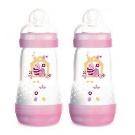 Imagem - Kit mamadeira easy start first bottle MAM 2 mais meses girls