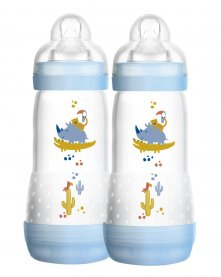 Imagem - Kit mamadeira easy start MAM 4+ meses 320ml boy