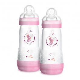 Imagem - Kit mamadeira easy start MAM 4+ meses 320ml girl