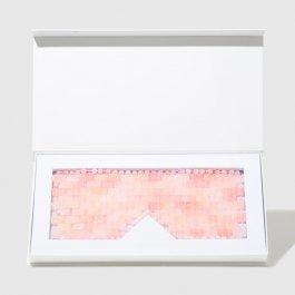 Imagem - Mascara de quartzo rose para olhos OCEANE