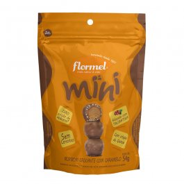 Imagem - Mini bombom crocante c/ caramelo FLORMEL 54g