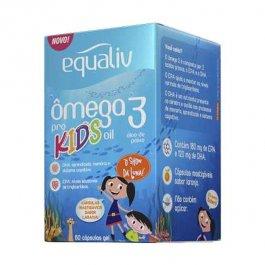 Imagem - Ômega 3 pro kids EQUALIV 60 cápsulas mastigáveis 90g