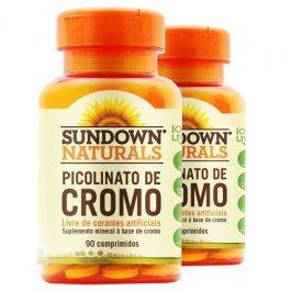 Imagem - Picolinato de cromo SUNDOWN 90 comprimidos - 16-126