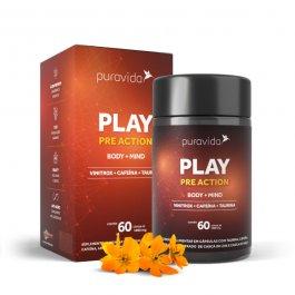 Imagem - Play pre action PURAVIDA 60 cápsulas