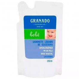 Imagem - Refil sabonete líquido bebê GRANADO 250ml