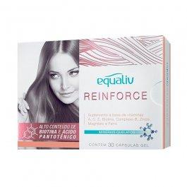 Imagem - Reinforce cabelos e unhas EQUALIV 30 cápsulas