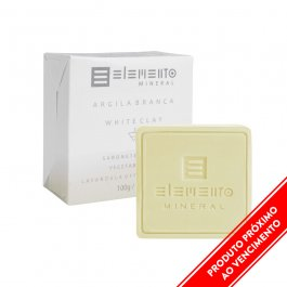 Imagem - Sabonete argila branca ELEMENTO 100g