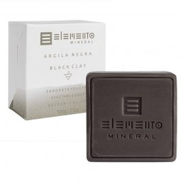Imagem - Sabonete argila negra ELEMENTO 100g