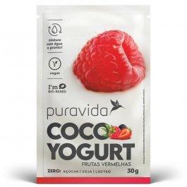 Imagem - Sachê coco yogurt PURA VIDA 30g frutas vermelhas