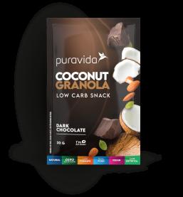 Imagem - Sachê coconut granola dark chocolate PURA VIDA 30g