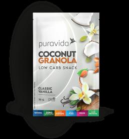 Imagem - Sachê coconut granola vanilla PURA VIDA 30g
