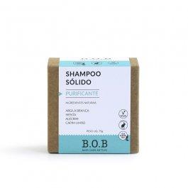 Imagem - Shampoo sólido purificante B.O.B 80g