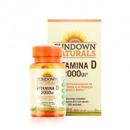 Imagem - Vitamina D 2000UI SUNDOWN 200 unidades