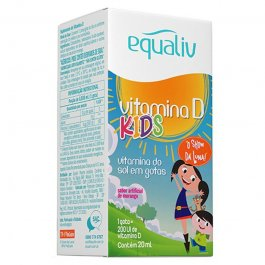 Imagem - Vitamina D kids EQUALIV 20ml