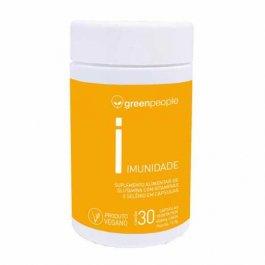 Imagem - Vitamina imunidade vegano GREENPEOPLE 60 cápsulas - 16-248