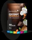 Coconut granola dark chocolate PURA VIDA 180g