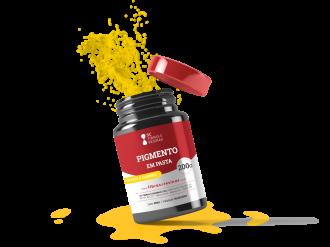 Imagem - Pigmento em Pasta Amarelo Canário  cód: 6363