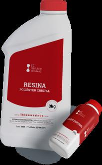 Imagem - Resina Cristal 3,06 kg cód: 4547