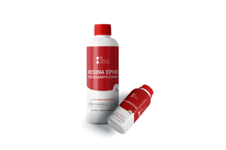 Imagem - Resina Epoxi - Porcelanato líquido - 1,5 kg cód: 3628