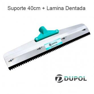 Imagem - Rodo Dentado + Lâmina Dentada - 40 cm cód: 6387