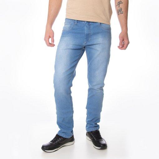 Calça Jeans Masculina Slim 5 Bolsos
