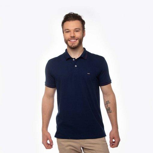 Camisa Polo Confort Masculina Manga Curta