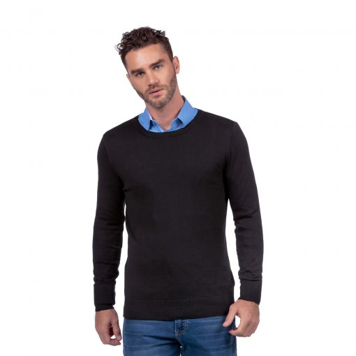 Suéter Básico Slim Leve