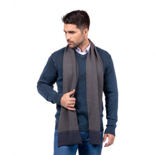 Suéter Decote V Estonado