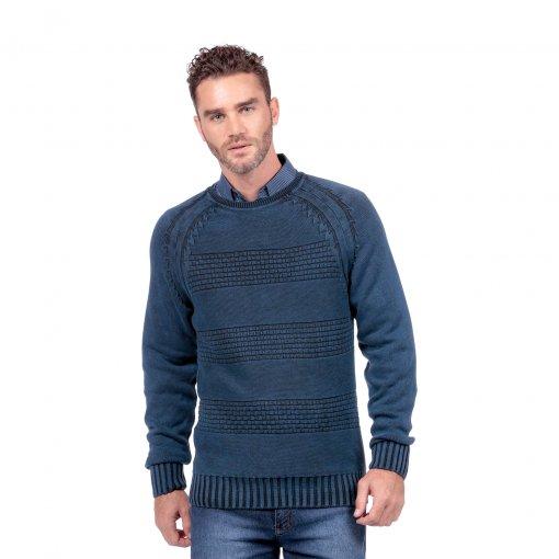 Suéter Diferenciado Algodão Estonado