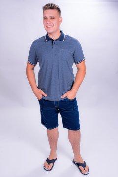 Imagem - Bermuda Jeans Masculina 5 Bolsos cód: 106797147