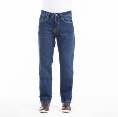 Imagem - Calça Jeans Comfort Masculina Com Bolso Relógio De Cor Azul Médio cód: 7673459132