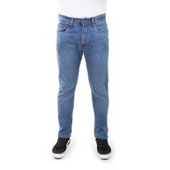 Imagem - Calça Jeans Skinny Masculina Com Cinco Bolsos De Cor Azul Médio cód: 76734512132