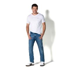 Imagem - Calça Jeans Masculina Slim 5 Bolsos cód: 7673272447