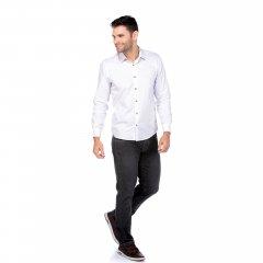 Imagem - Camisa Slim Ref 136040 Branca cód: 782501251