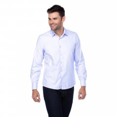 Imagem - Camisa Slim Ref 5292 Branca cód: 782501291