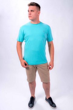 Imagem - Camiseta Masculina Básica Manga Curta Gola Redonda cód: 1055191432