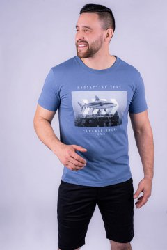 Imagem - Camiseta Masculina Manga Curta cód: 10553115