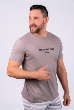 Imagem - Camiseta Masculina Manga Curta Com Silk cód: 10552724