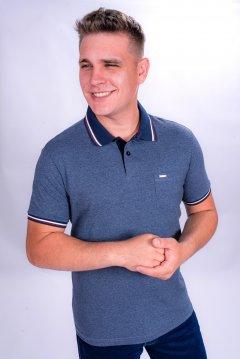 Imagem - Camisa Polo Manga Curta com Bolso cód: 1055499230