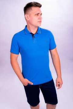 Imagem - Camisa Polo Masculina Manga Curta cód: 10554945