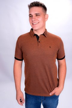 Imagem - Camiseta Polo Comfort Masculina Manga Curta cód: 1055535149