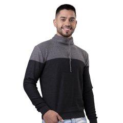 Imagem - Sueter Masculino Gola Alta Modelagem Slim cód: 784530517