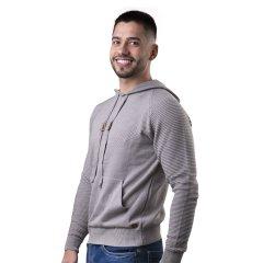Imagem - Sueter Masculino Modelagem Slim Com Capuz cód: 784530617