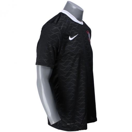 Camisa Nike Corinthians II 2012  Com Número 10 Manga Curta