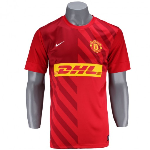 Camisa Nike Manchester Pre Match 2013