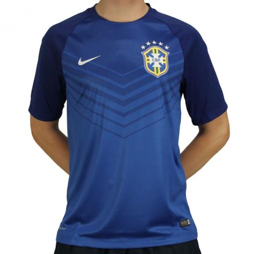 Camisa Nike Seleção Brasil Pre Match 2014 eb2b2c92baf97