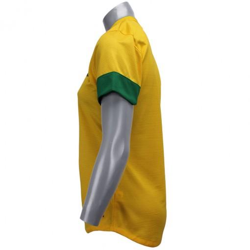 Camisa Nike Seleção Brasil I 2012 Torcedor  Sem Número Manga Curta   447968-703