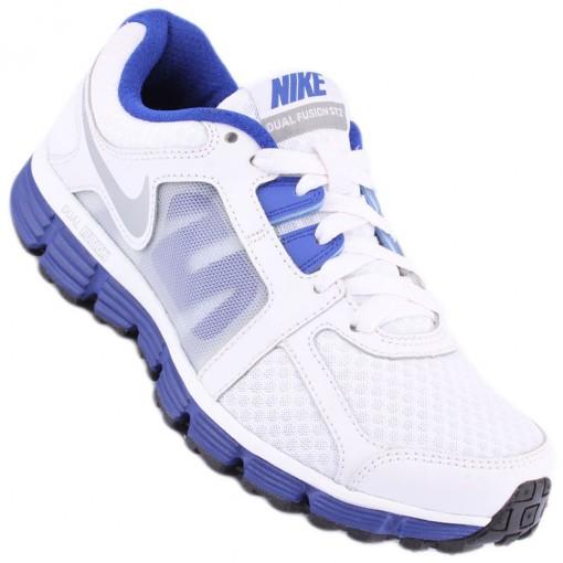 cced988bd Tênis Nike Dual Fusion ST 2 Feminino Branco Rosa 454240-105